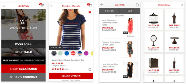 JCPenney Mobile Application