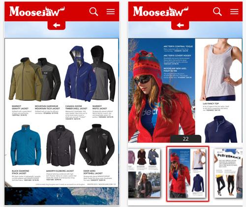 Moosejaw Mobileapp