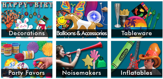 A theme party is a great opportunity to celebrate a birthday, holiday, or special occasion in a unique way. Transform your party area with theme party supplies from Windy City Novelties.