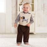 Mud Pie Baby-boys Sweater Outfit