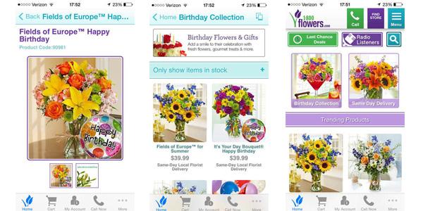 1800 Flowers Mobile App