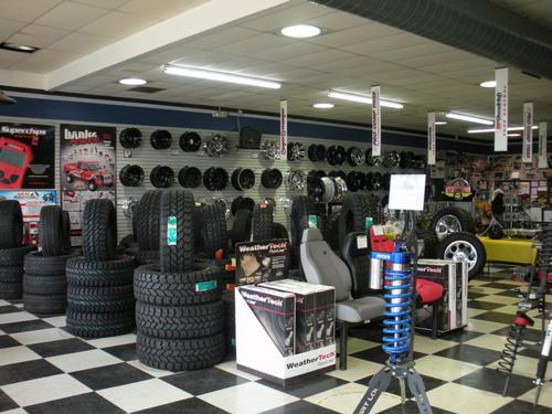 4 Wheels Parts Store