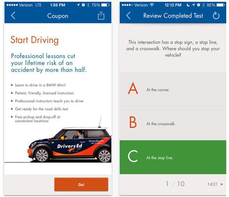 DriversEd Mobile App