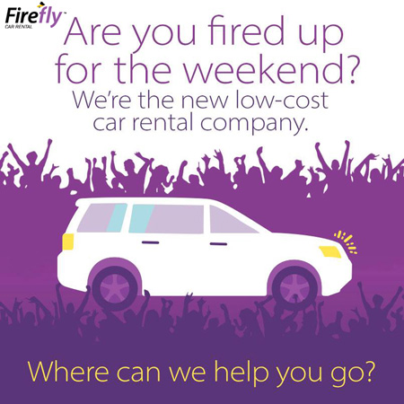 Firefly car rental discount coupons