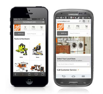 Home Depot Mobileapp