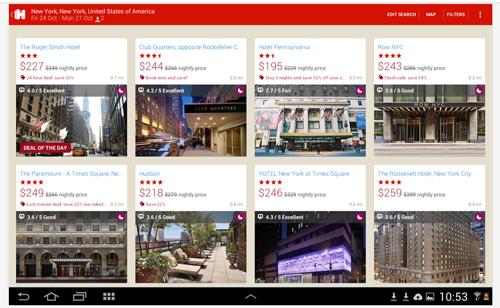 Hotels Mobileapp