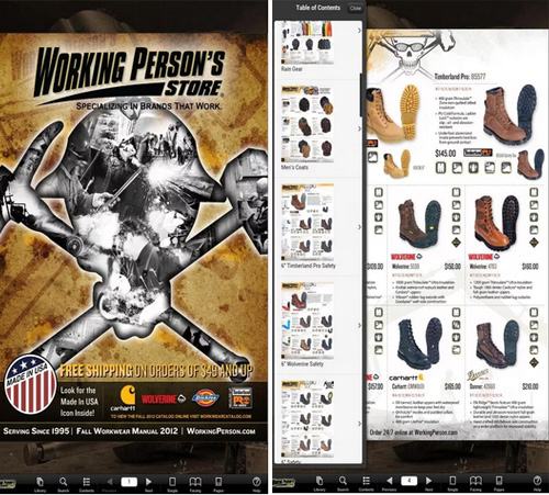 Working Persons  Store Mobileapp
