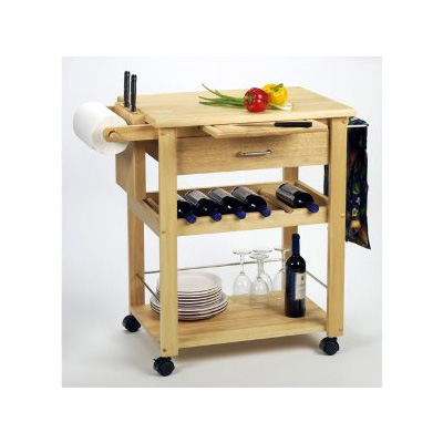 Winsome Wood Complete Kitchen Cart