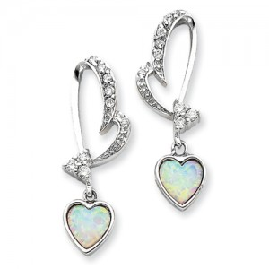 gemaffair-heart-shape-silver-earring-1