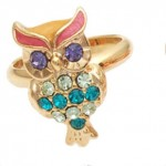 vintage-retro-style-colorful-stone-owl-shape-rings-1