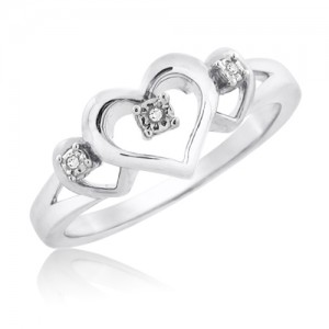gm-sterling-silver-diamond-ladies-triple-heart-ring-1